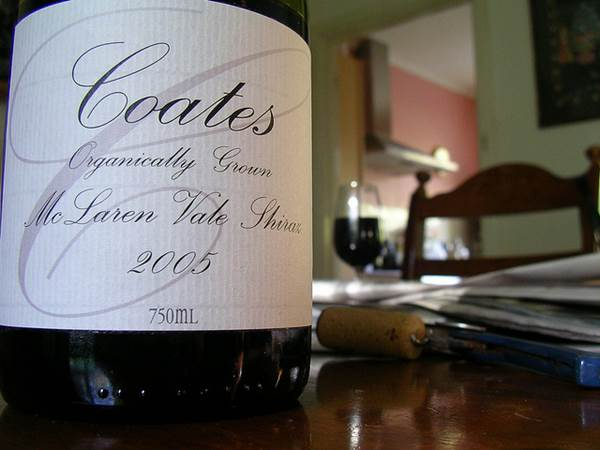 Coates Certified Organic 2005 Shiraz
