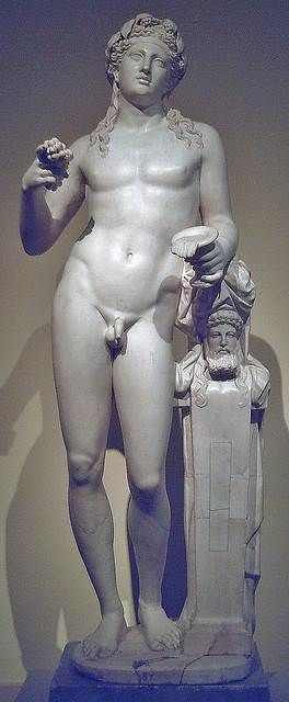 Statue of Dionysus - God of Wine